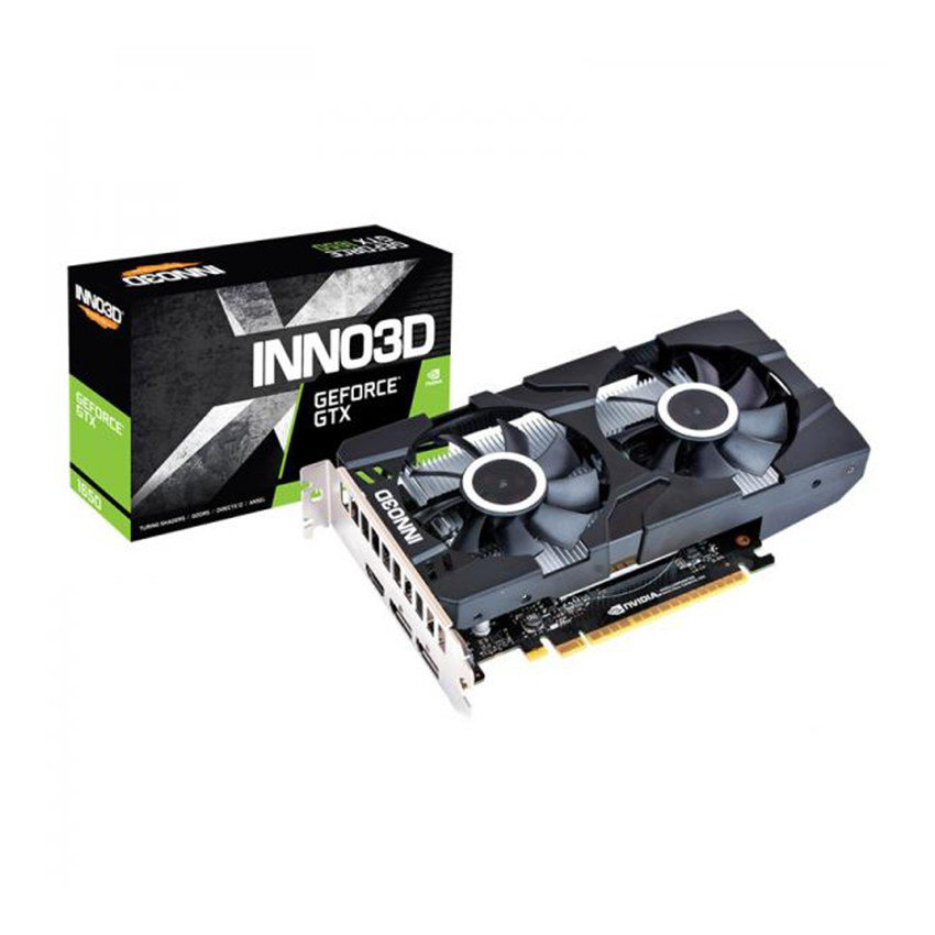 Card màn hình INNO3D GeForce GTX 1650 TWIN X2 OC (4GB GDDR5, 128-bit, HDMI+DP)