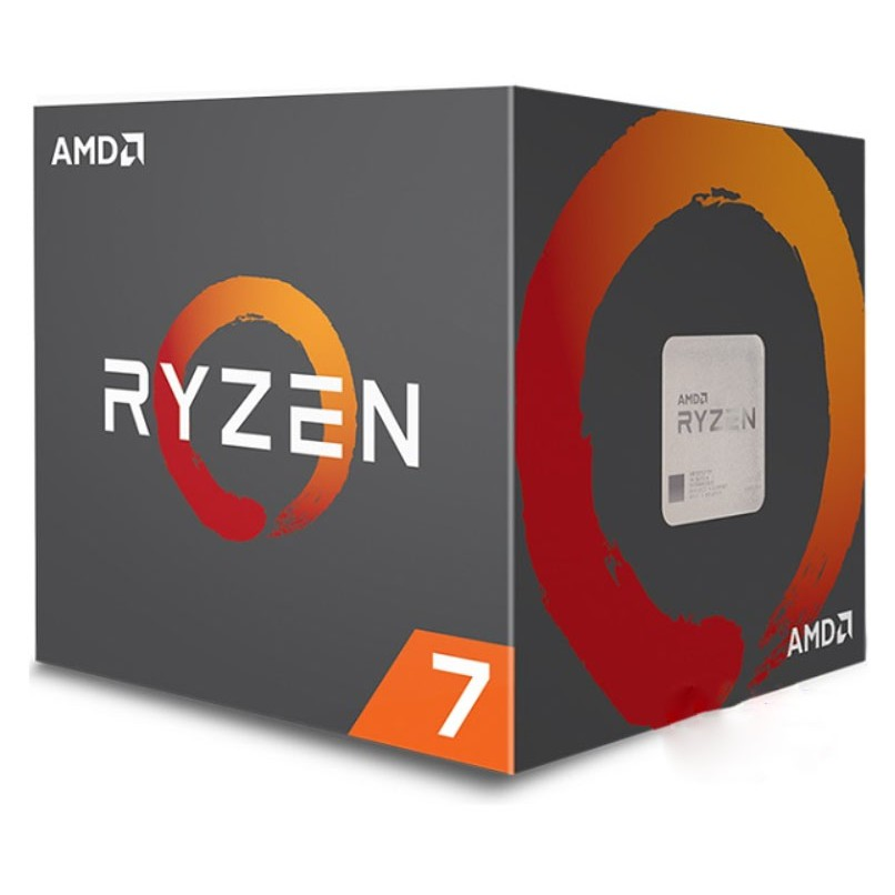 CPU AMD Ryzen 7 2700 (3.2GHz turbo up to 4.1GHz, 8 nhân 16 luồng, 16MB Cache, 65W) - Socket AMD AM4)