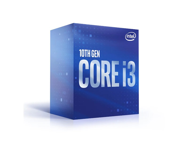 CPU Intel Core i3-10100F (3.6GHz turbo up to 4.3Ghz, 4 nhân 8 luồng, 6MB Cache, 65W) - Socket Intel LGA 1200